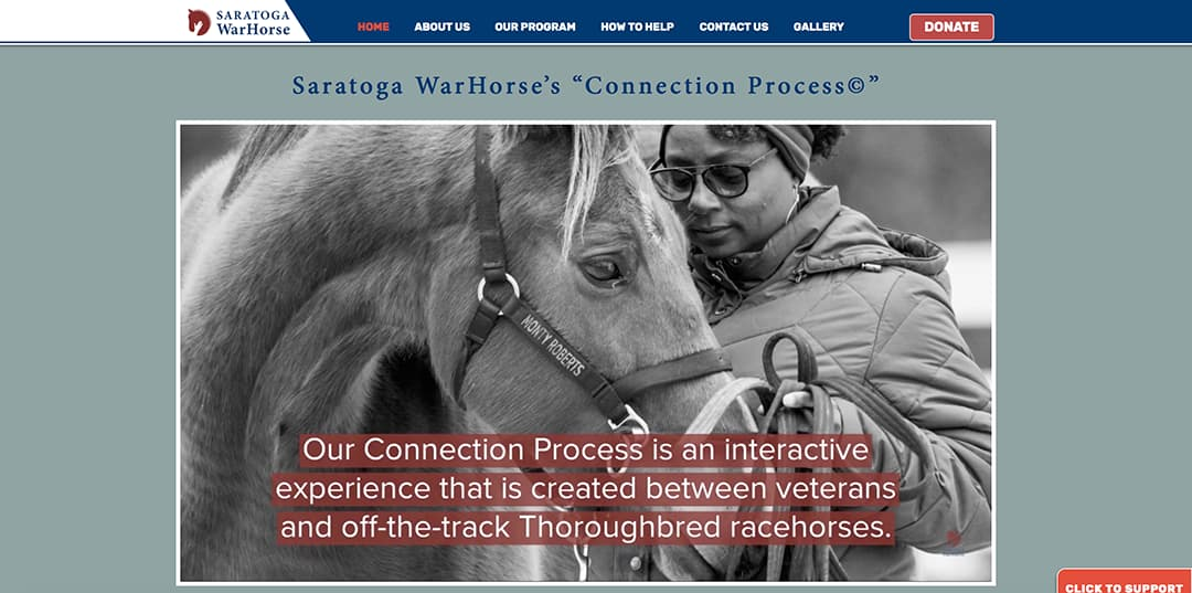 Saratoga WarHorse website