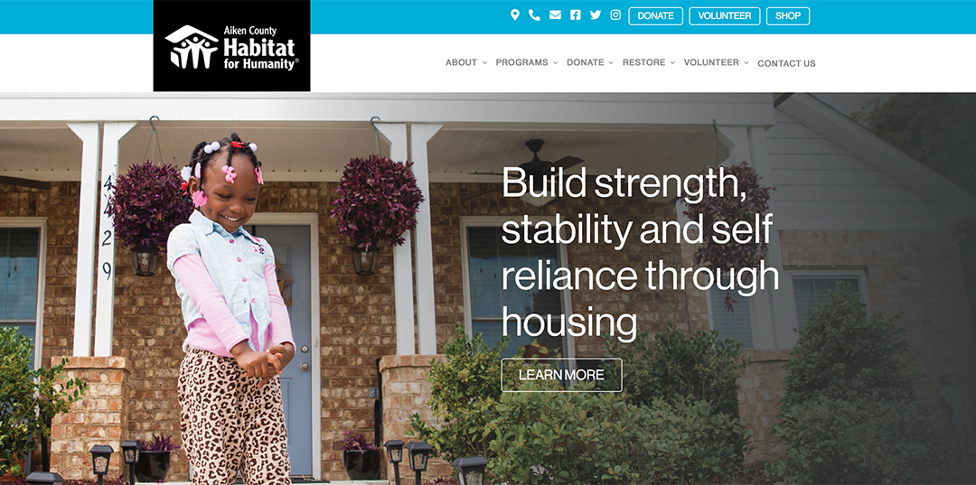 Aiken Habitat for Humanity Website